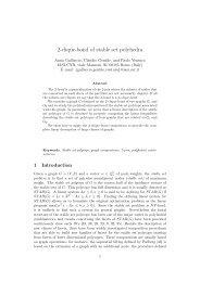 2-clique-bond of stable set polyhedra - Optimization Online