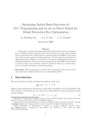Optimizing Radial Basis Functions by D.C. Programming and its use ...