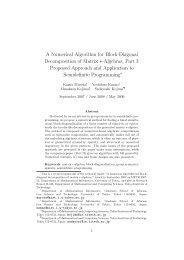 A Numerical Algorithm for Block-Diagonal Decomposition of Matrix ...