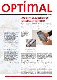 Ausgabe Nr. 1/09 - Optimo Service AG
