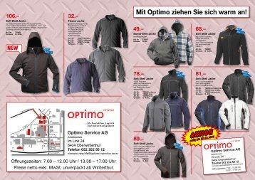 AKTION - Optimo Service AG