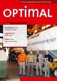 Ausgabe Nr. 1/12 - Optimo Service AG