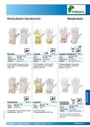 Handschutz Rindvollleder-Handschuhe - arbeitsschutz-online.de