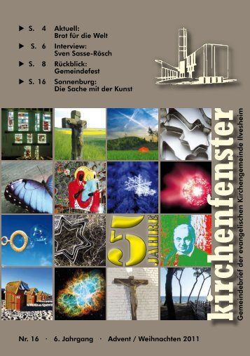 Die Sache mit der Kunst - Evangelische Kirchengemeinde Ilvesheim