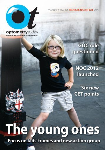 Download this issue - Optometry Today