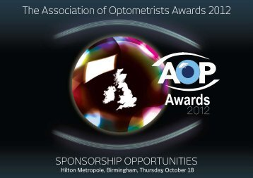 Awards - Optometry Today