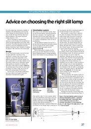 Advice on choosing the right slit lamp