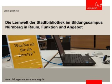 Der Bildungscampus Nürnberg - OPUS Bayern