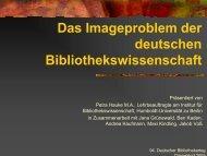 Das Imageproblem der deutschen ... - OPUS Bayern