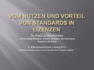 Dr. Klaus Junkes-Kirchen - OPUS Bayern