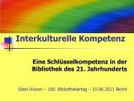 4. Was ist Interkulturelle Kompetenz? - OPUS Bayern