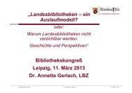 Landesbibliothek - OPUS Bayern