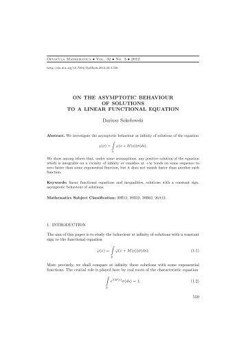 Article - opuscula mathematica