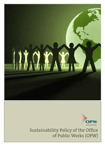 Sustainability Policy of the Office of Public Works (OPW)
