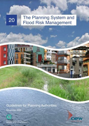 Guidelines on the Planning System and Flood Risk Management