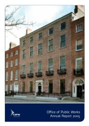 Annual Report 2005 - The Office of Public Works