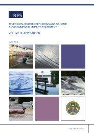 Environmental Impact Statement - Vol 3 of 3 - Appendices Pt 1