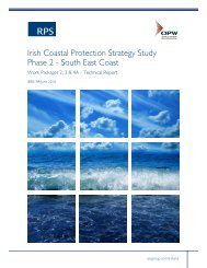 South East Coast Work Packages 2, 3 & 4A - Technical Report