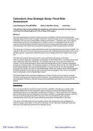 Caherdavin Area Strategic Study: Flood Risk Assessment
