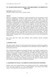 09 - flood estimation in small and urbanised catchments in ireland