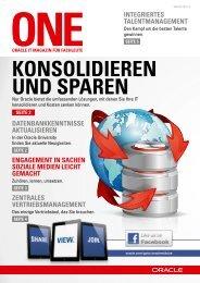 ONE News Januar 2014 - Oracle