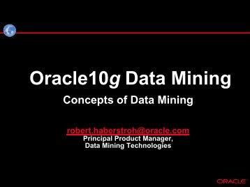JDMAPI Expert Group Kick-Off Meeting - Oracle