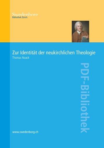 Zur Identität der neukirchlichen Theologie PDF - Orah.ch