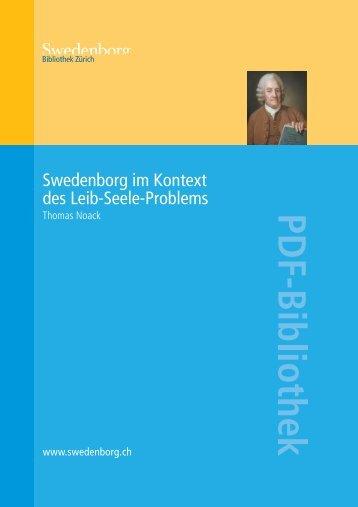 Swedenborg im Kontext des Leib-Seele-Problems PDF - Orah.ch