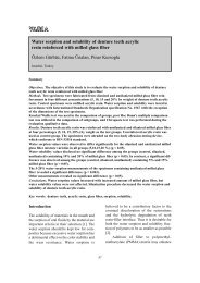 Water sorption and solubility of denture teeth acrylic resin reinforced ...