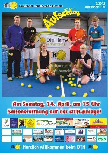 kümmert sich der Chef! – Rtn is ... - Deutscher Tennisverein Hameln