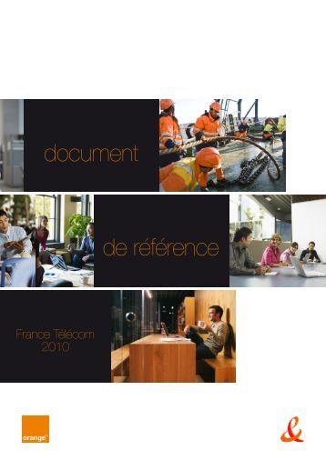 document de référence - Orange.com