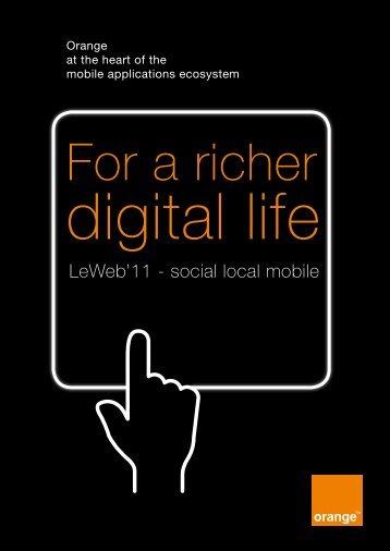 For A Richer Digital Life - Orange.com