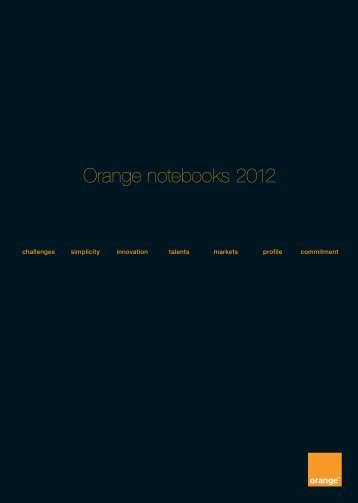 annual report 2012 - Orange.com
