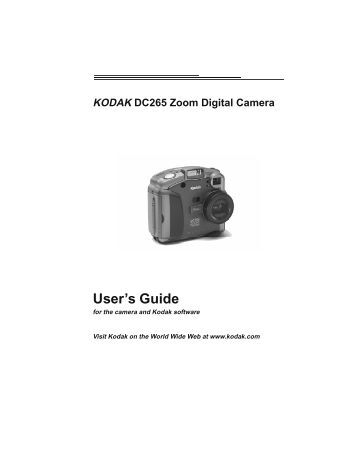 kodak mini video camera manual
