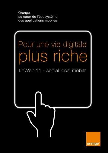 Pour une vie digitale - Orange.com