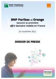 L'offre de services bancaires mobiles - Orange.com