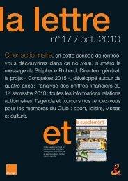 n° 17 / oct. 2010 - Orange.com