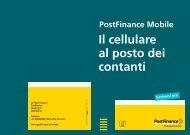 Postfinance Mobile Il cellulare al posto dei contanti