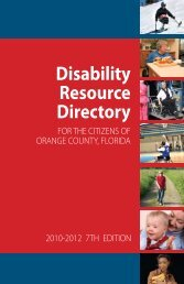 Disability Resource Directory - Orange County