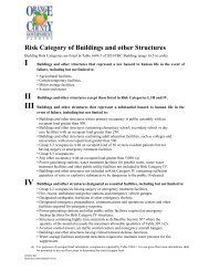 Risk Category of Buildings and other Structures - OrangeCountyFl.net