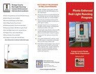 Photo Enforced Red-Light Running Program