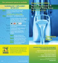 Conserve Water - Orange County