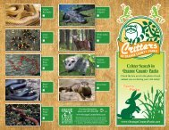 of orange county parks Critter Search in Orange County Parks Critter ...