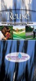 Reclaimed Water Brochure - OrangeCountyFl.net