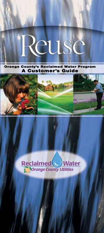 Reclaimed Water Brochure - OrangeCountyFl.net