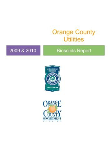 (OCU) provides water, wastewater, and solid waste ... - Orange County