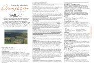 Belangrijke informatie voor uw verblijf - Camping Oranjezon