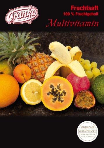 Multi-Vitamin-Saft