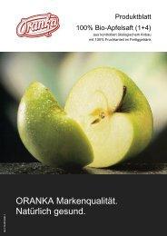 100% Bio-Apfelsaft (1+4)