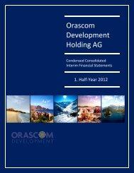 ODH interim report Q2 2012 Final3 - Orascom Development